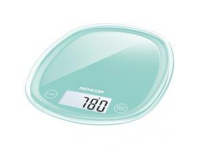 Kuchyňská váha Sencor SKS 31GR zelená 5 kg