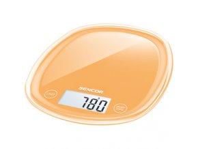 Kuchyňská váha Sencor SKS 33OR oranžová 5 kg