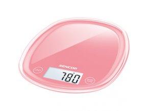 Kuchyňská váha Sencor SKS 34RD červená 5 kg