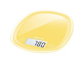 Kuchyňská váha Sencor SKS 36YL žlutá 5 kg