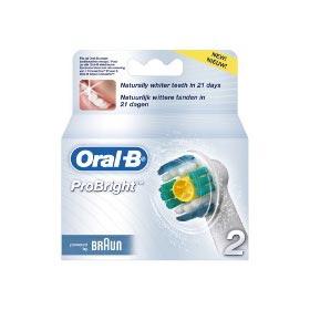 Náhradní kartáčky do zubních kartáčků Braun EB 18-2 .