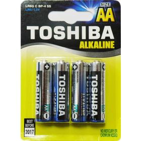 Baterie tužková AA LR06 alkalická