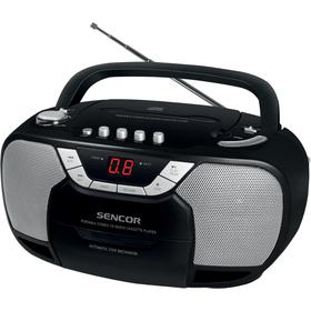 Radiomagnetofon s CD Sencor SPT 207 kazetová mechanika .