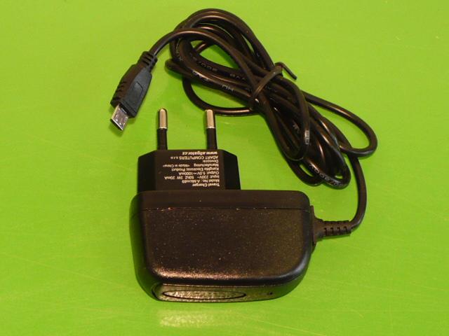 Nabíječka na mobilní telefon mikro USB 5V 500mA