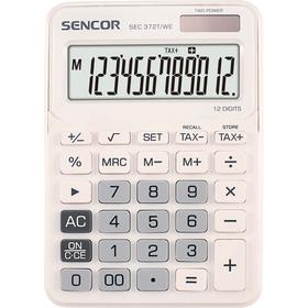 Stolní kalkulačka Sencor SEC 372T/WE pro prodejny, kanceláře