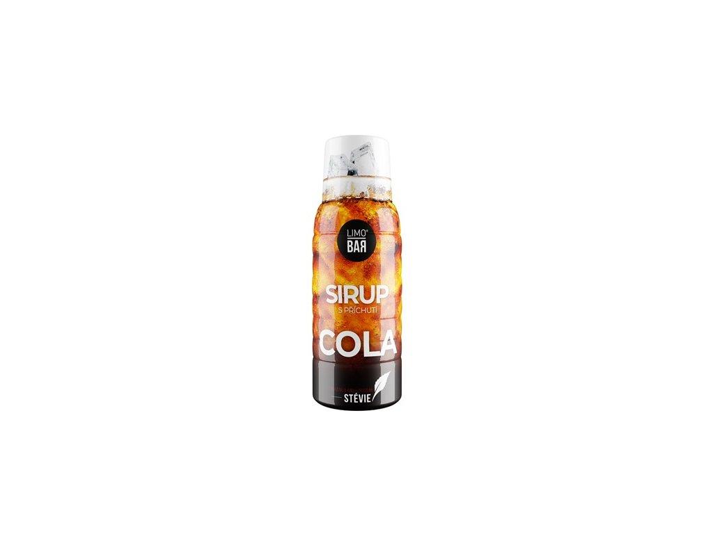LIMO BAR - Sirup Cola Stevia 0,5L