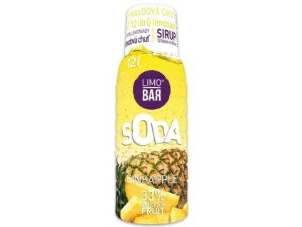 LIMO BAR - Sirup Ananas 0,5l