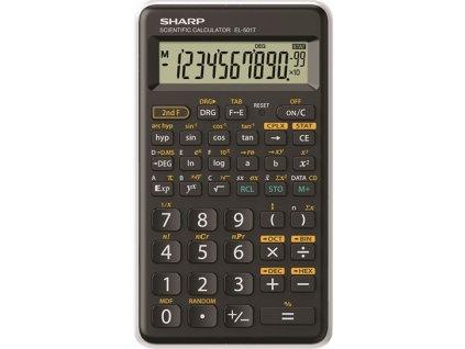 Sharp kalkulačka - EL-501T - bílá