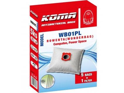 13673 1 sacek rowenta wonderbag compact koma