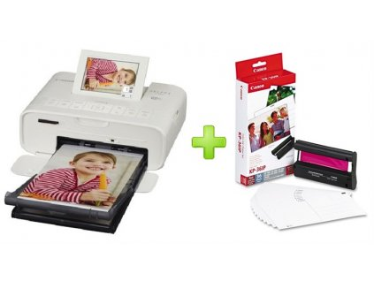 CANON Selphy CP-1300 White + KP-36IP