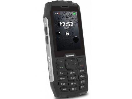 myPhone Hammer 4 stříbrný