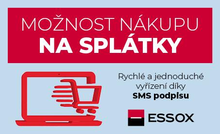 ESSOX nákup na splátky rychle a jednoduše pomocí SMS podpisu