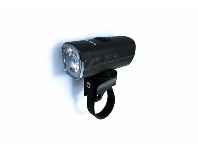 Crussis CRS 400 přední světlo hliník, USB