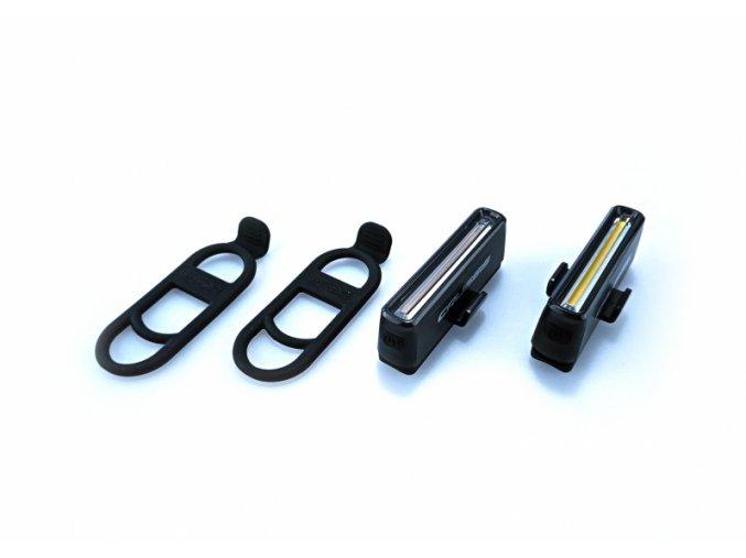 Crussis CRS 30 SET přední a zadní světlo USB