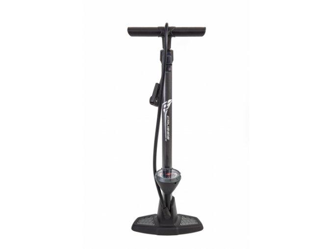 CRD 04002 Crussis hustilka pumpa velká hliníková, 11 bar, černá