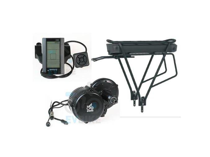 Kit 250W středový + LCD C965 + 11,6Ah aku s nabíječkou a nosičem