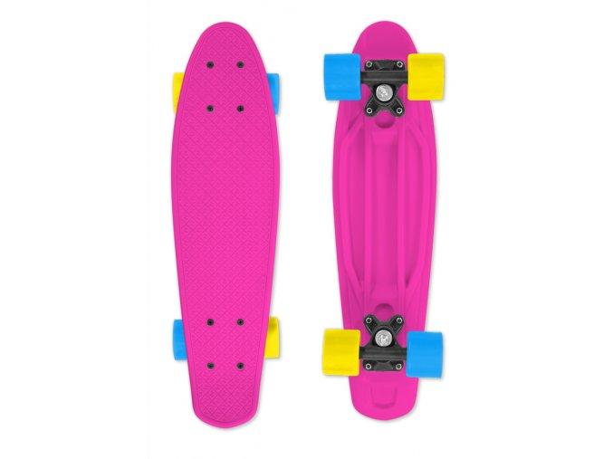 Skateboard FIZZ BOARD Pink