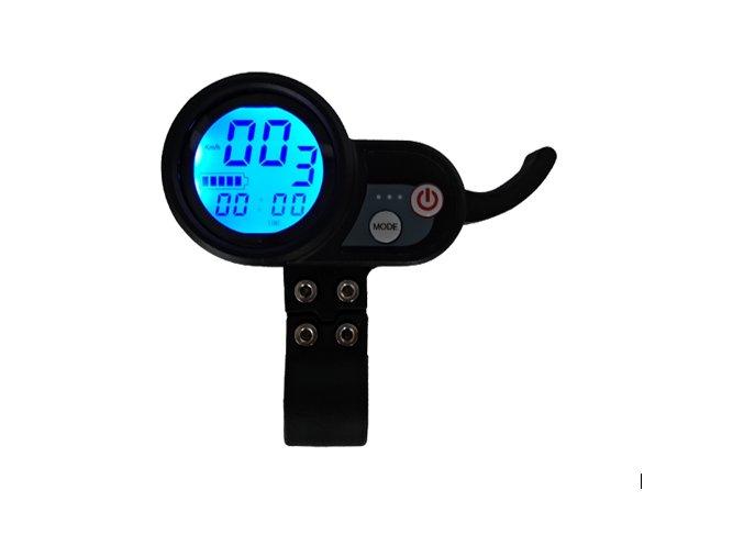 Multifunkční displej s ovládáním rychlosti 48 V pro elektrokoloběžku BLUETOUCH BT500