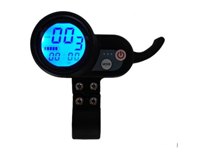 Multifunkční displej s ovládáním rychlosti 60 V pro elektrokoloběžku BLUETOUCH BT800