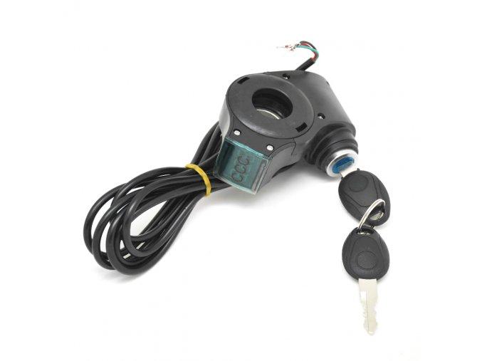 Elektronický zámek s klíčem pro elektrokoloběžky BLUETOUCHBT350/BT500/BT800