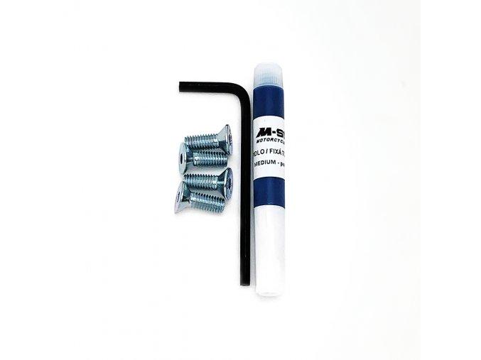 Sada náhradních šroubů, imbusu a lepidla pro elektrokoloběžku BLUETOUCH BTX250