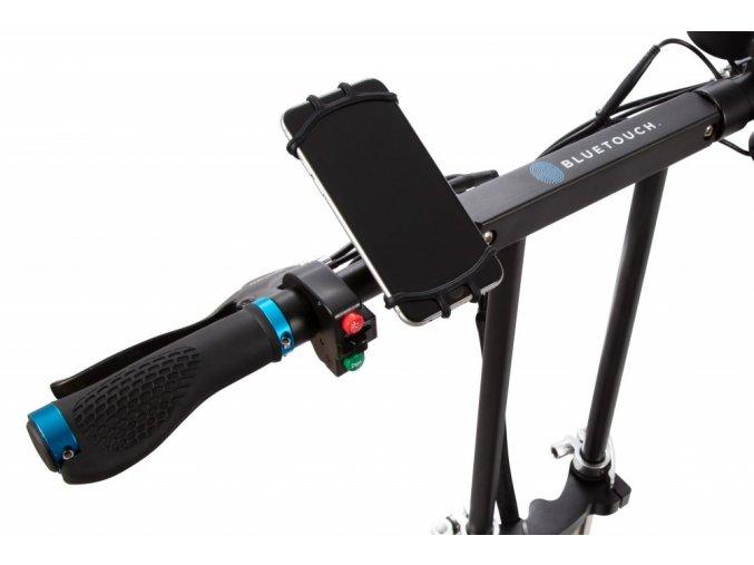 360° držák na mobilní telefon pro elektrokoloběžky BLUETOUCH