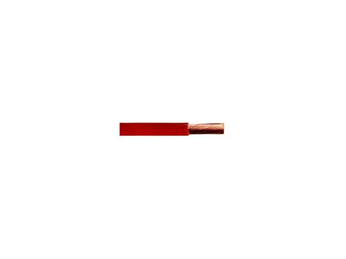 Vodič 4mm - červený
