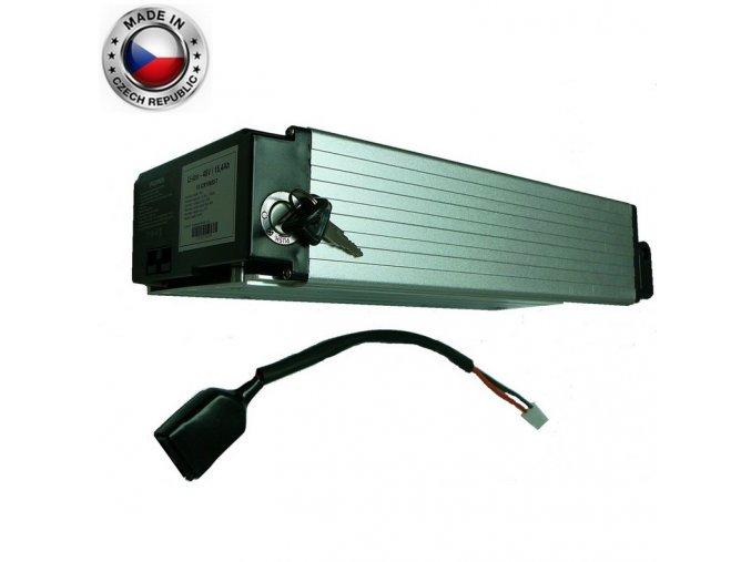 Akumulátor Li ion Samsung 48V, 27Ah, Alu box