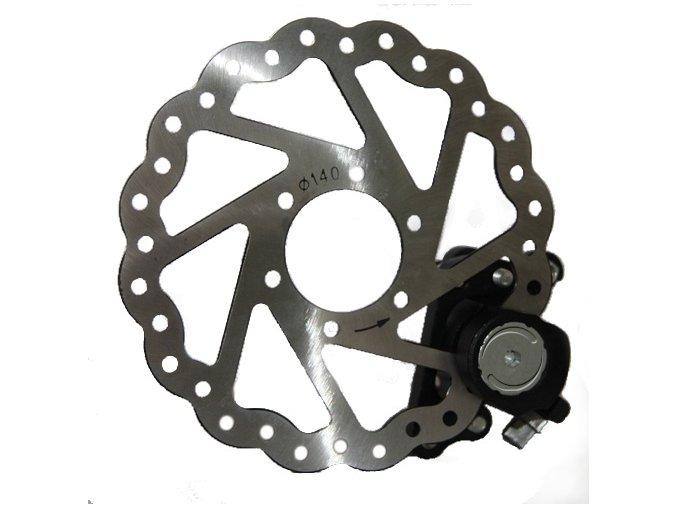 Disk kotoučové brzdy - 160 mm 6 děr