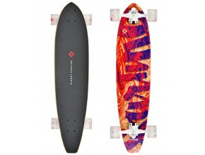 "Longboard Street Surfing CUT KICKTAIL 36"" Streaming"