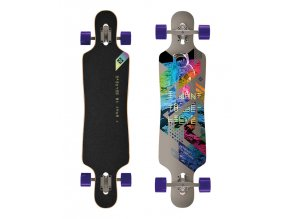 "Longboard Street Surfing FREERIDE 39"" I Want To Believe"