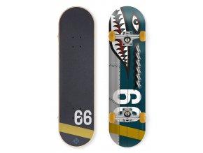 """Skateboard Street Surfing STREET SKATE 31"""" Shark Fire"""