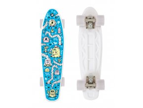 Skateboard FIZZ FUN BOARD Alarm Blue 2020
