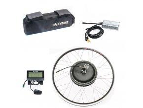 Výkon pohonu v předním kole 500W, kapacita brašnové baterie 13Ah