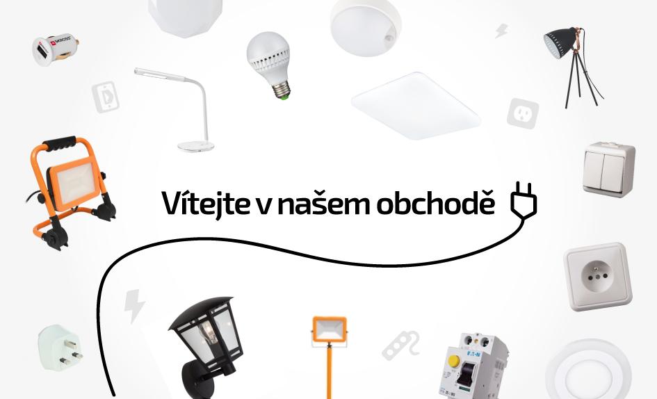 Elektromaterial a svítidla