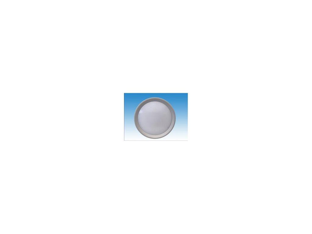 OPPLE BERTA 420/4000 SILVER interiérové, úsporné svítidlo se stříbrným rámečkem