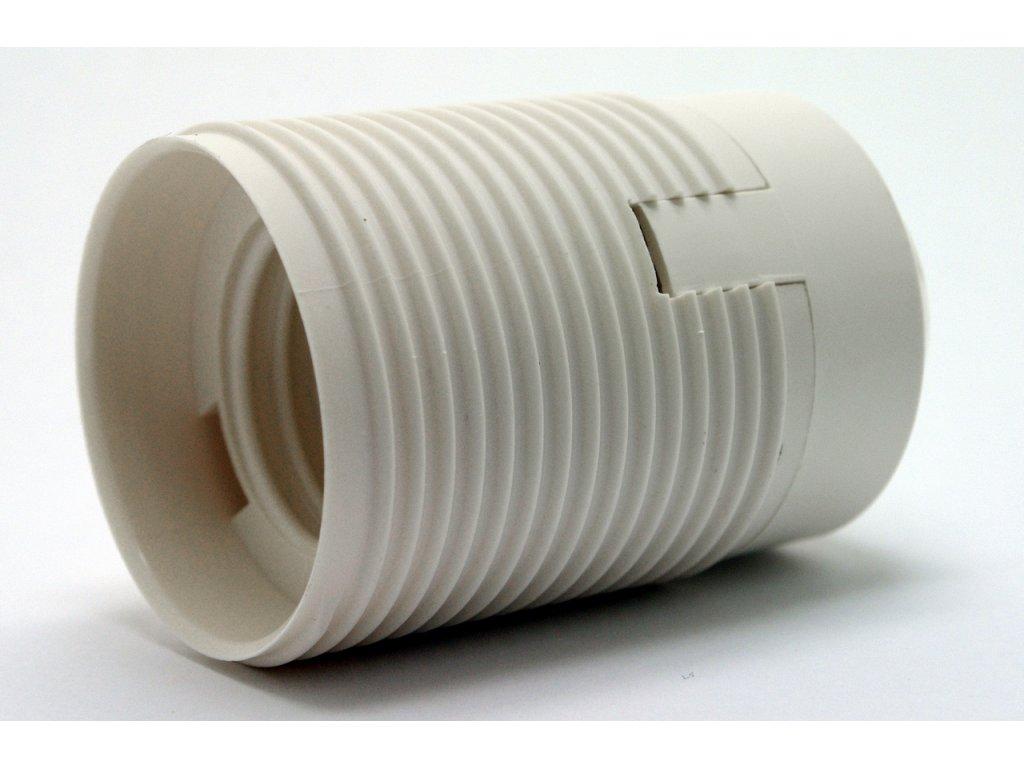 DESKO objímka E27 1352-13400 bílá