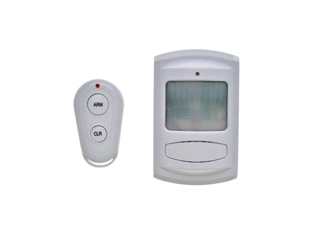 Solight GSM Alarm 1D11, pohybový senzor, dálk. ovl., bílý