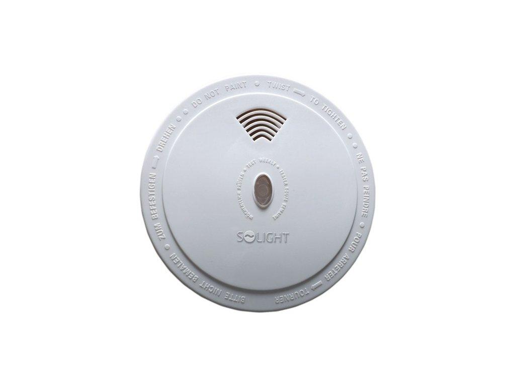 Solight detektor spalin CO bateriový (9V), 1D31, 85dB, bílý