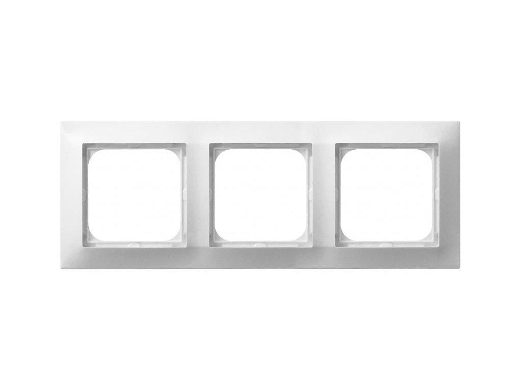 OSPEL Impresja trojrámeček bílý