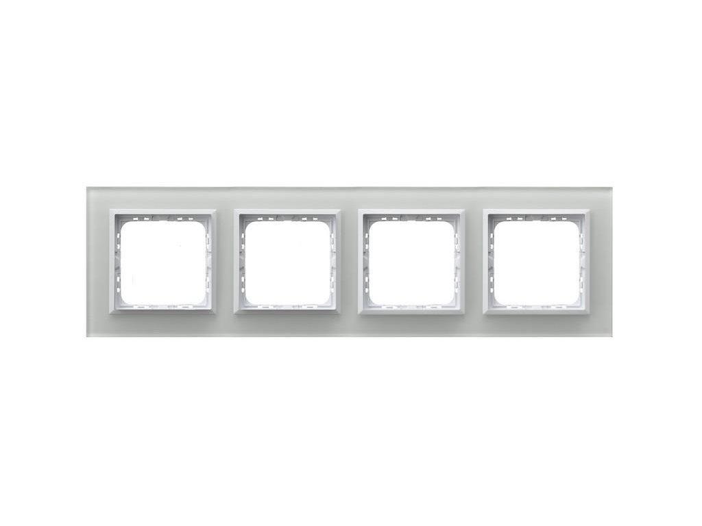 OSPEL Sonáta čtyřrámeček sklo bílé