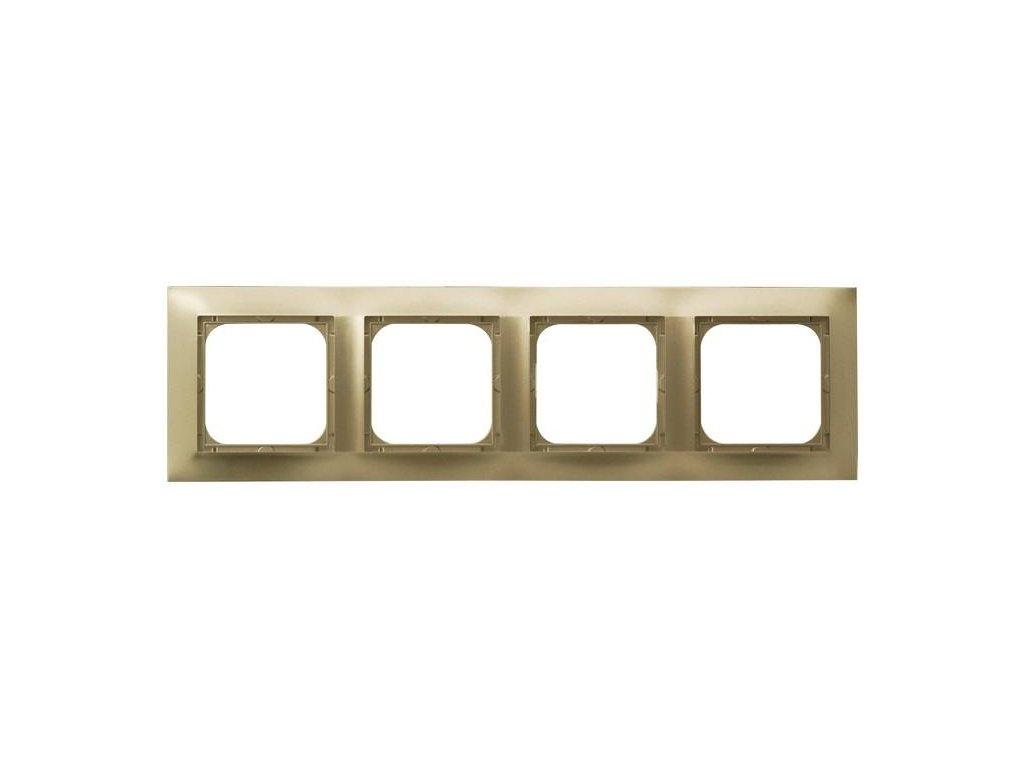 OSPEL Impresja čtyřrámeček zlatý