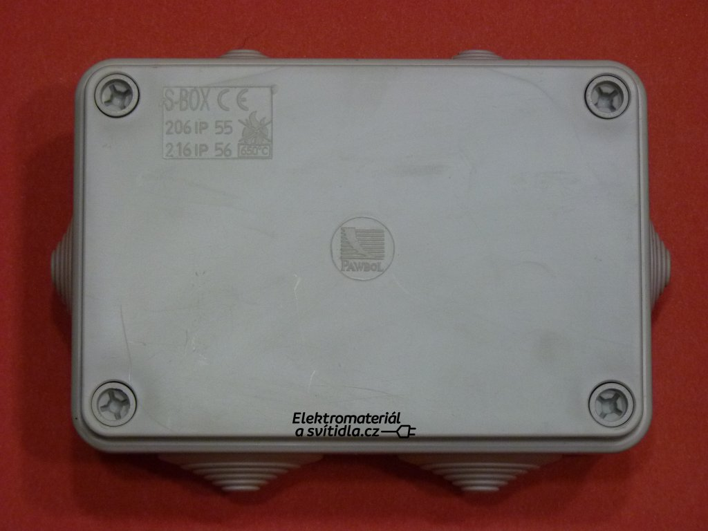 KRABICE S-BOX206 INSTALAČNÍ UNIVERZÁLNÍ SEZ