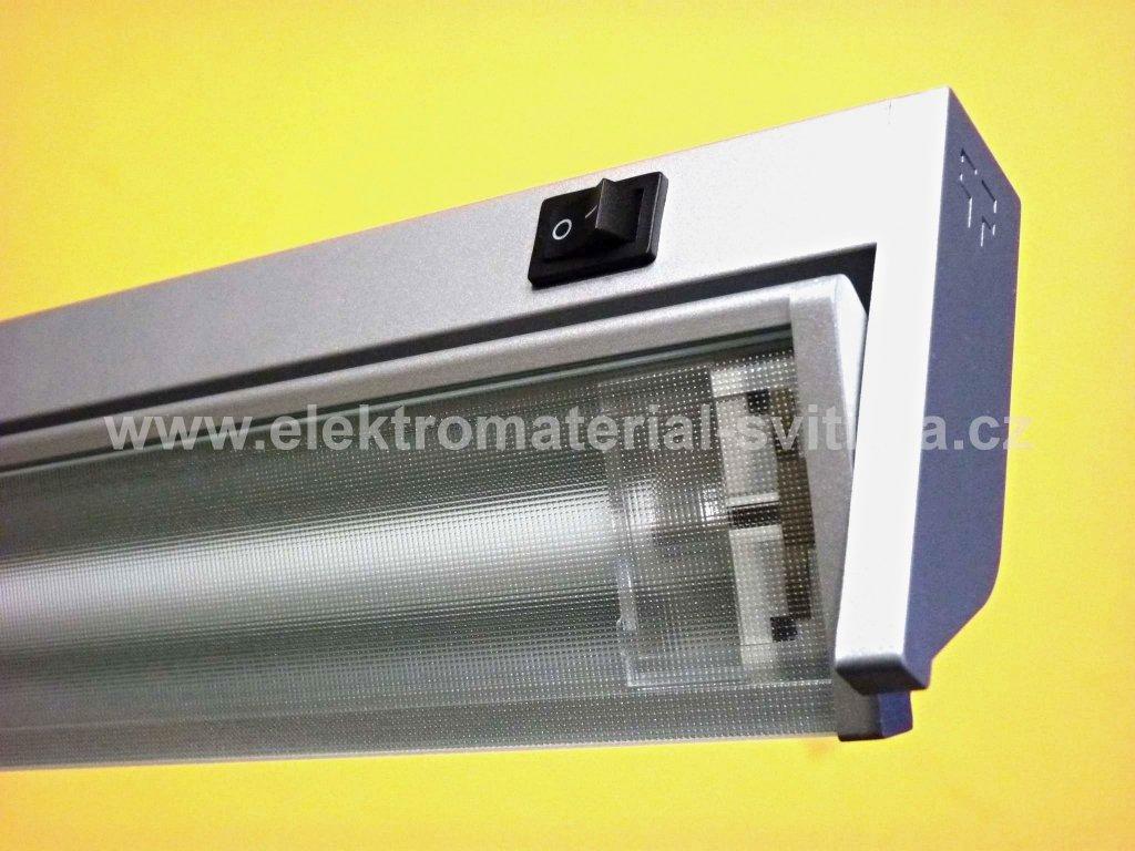 Illuma Podlinka TL2016-13 W stříbrné, přímé připojení, délka 57,5cm