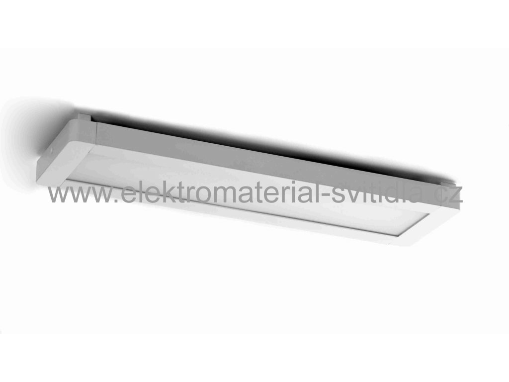 Eurakles TL6013-B-25W/STR, ALENA LED 25W, 4100K, kancelářské svítidlo 54,7cm stříbrné