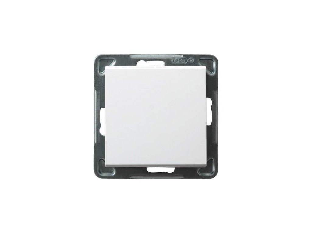 OSPEL Sonáta spínač jednopolový bílý