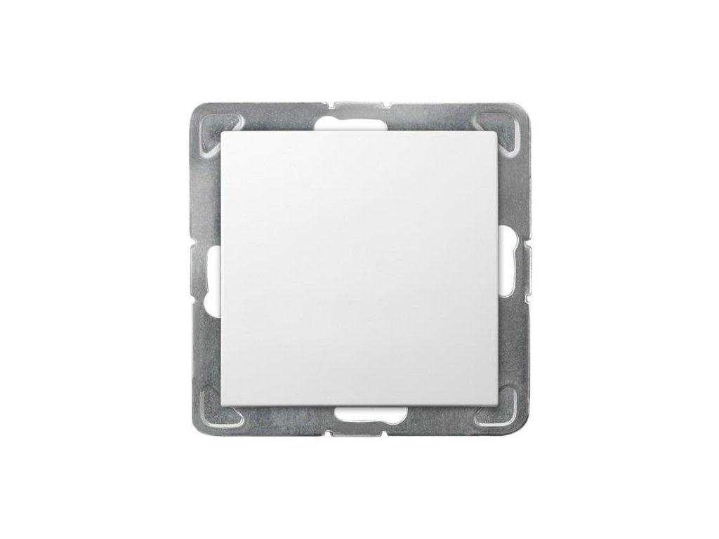 OSPEL Impresja spínač jednopolový bílý