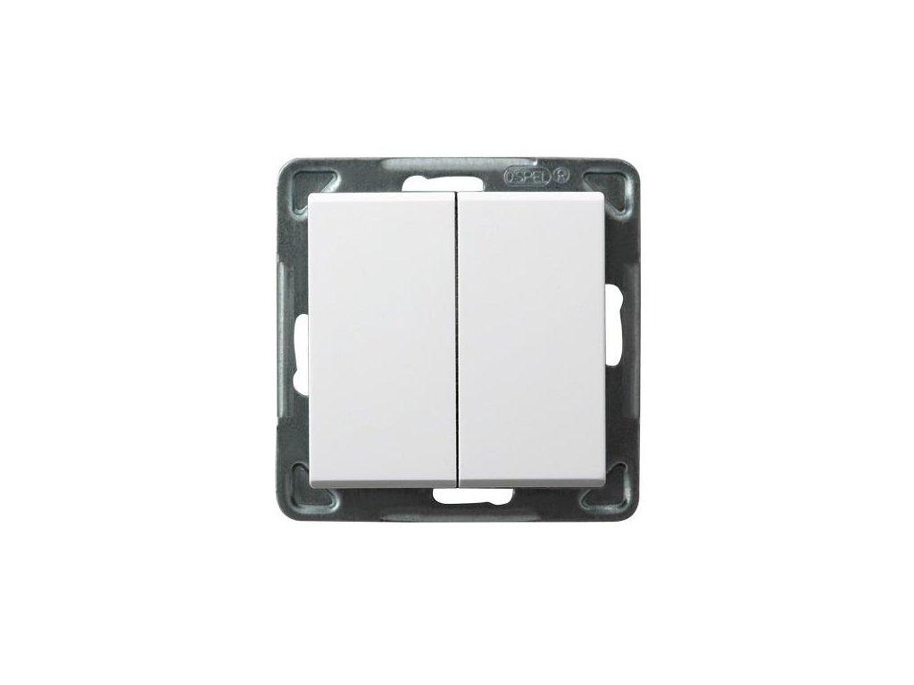 OSPEL Sonáta přepínač lustrový bílý