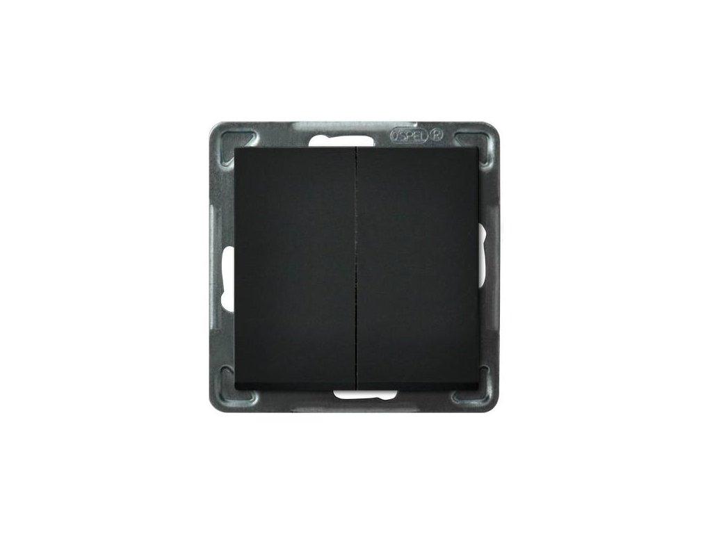 OSPEL Sonáta přepínač lustrový černý