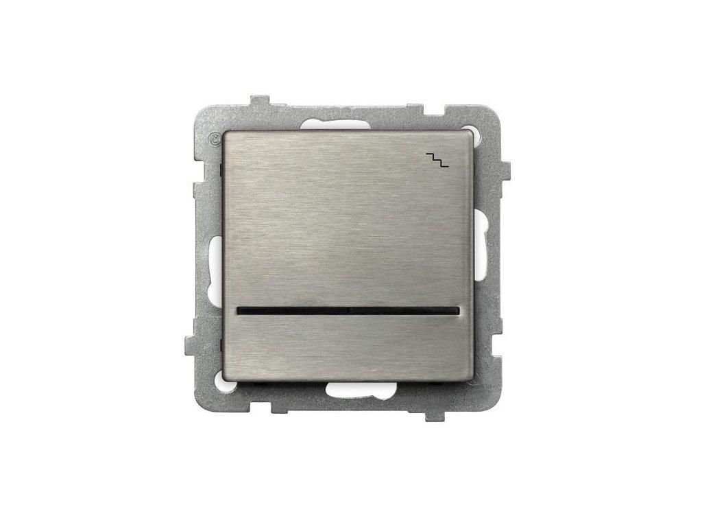 OSPEL Sonáta přepínač lustrový ocel